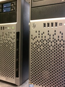 Webpages hosted with HP Gen8 Xeon Servers